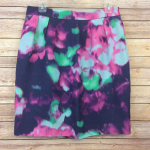 Kate Spade Watercolor Pencil Skirt